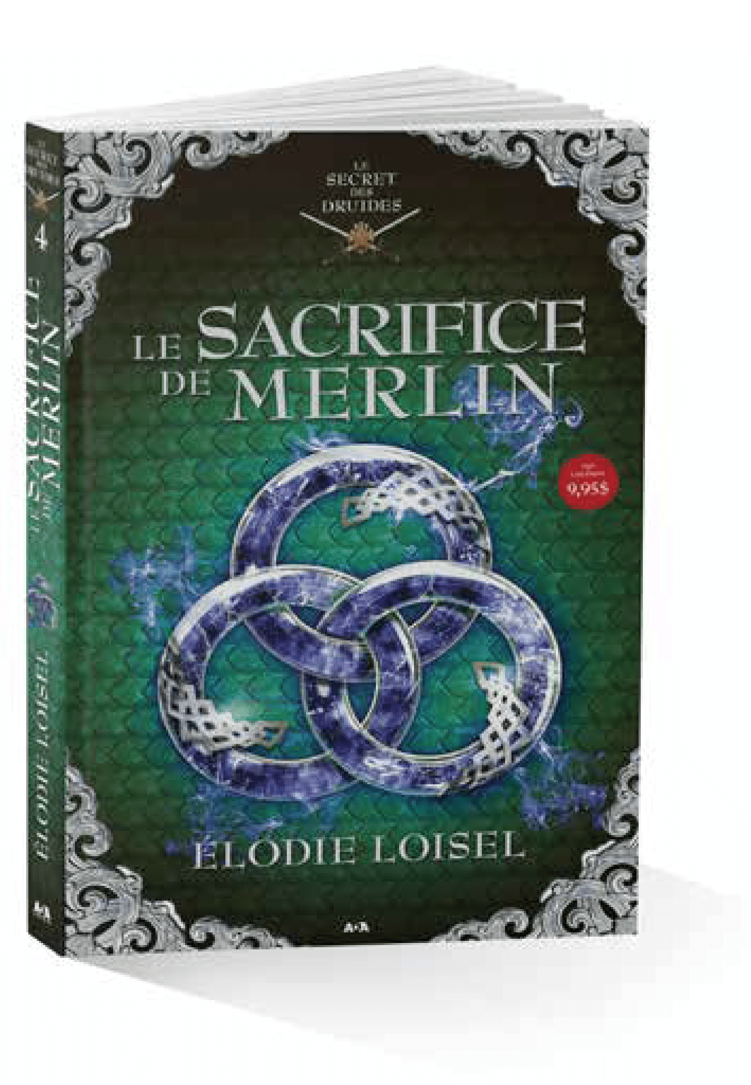 Livre Le secret des druide T4 Le sacrifice de Merlin