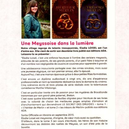 Elodie Loisel Auteur