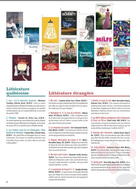Les libraires les MILFS au Pérou Elodie Loisel Auteur