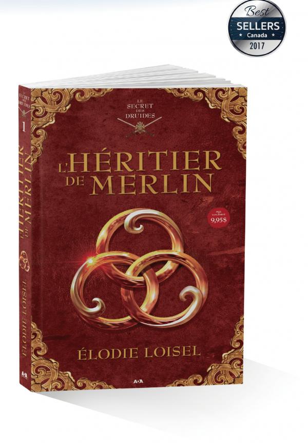 Auteur elodie loisel L'héritier de Merlin Best seller